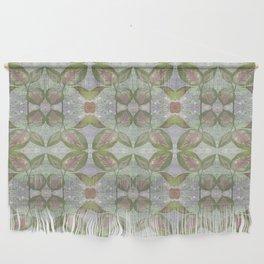 Coleus Quiet Gray Pattern Wall Hanging