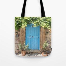 Doorways - Cunda Island IV Tote Bag