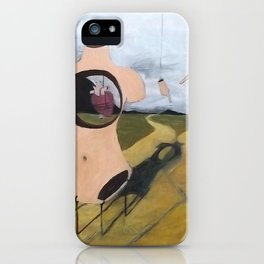 """Which Road to Choose"" iPhone Case"