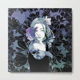 Blue cancer Metal Print