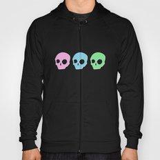 pastel skull Hoody