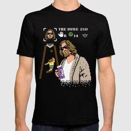 The Big Lebowski - The Dude Abides T-shirt