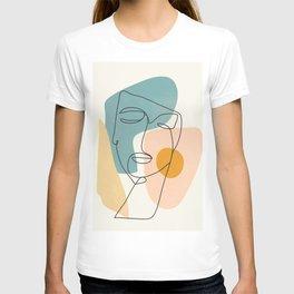 Abstract Face 25 T-shirt