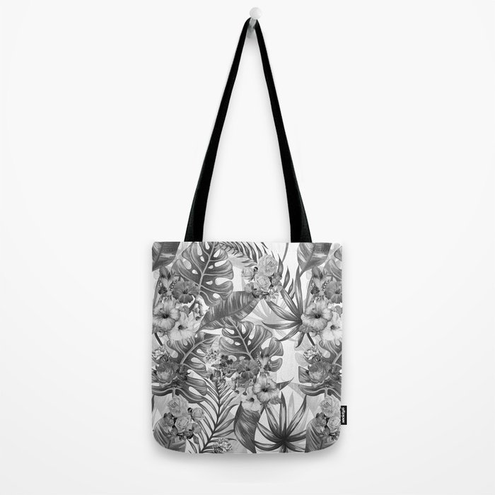 Palm Pattern Tote Bag