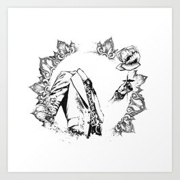 The Headless Bruce - MiguelRC Art Print
