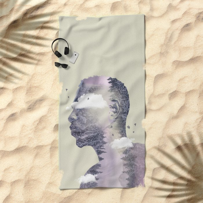 Into The Wild Beach Towel