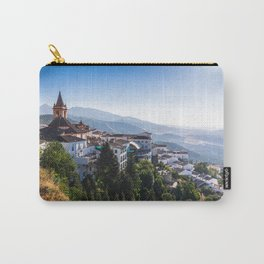Stunning mountain village of Zahara de la Sierra in Spain Carry-All Pouch