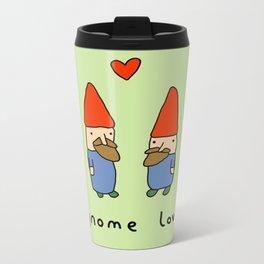 Gnome Love Metal Travel Mug
