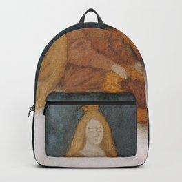 """""""The White Bear"""" by Theodor Kittelsen Backpack"""
