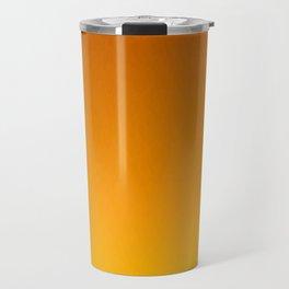 Honey Brown Orange Yellow Ombre Flames Travel Mug