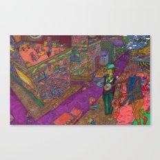 Ipaneman Dreams Canvas Print