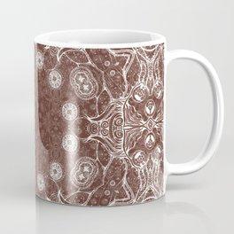 brown Mandala Coffee Mug