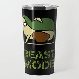 Beast Mode Avocado Travel Mug