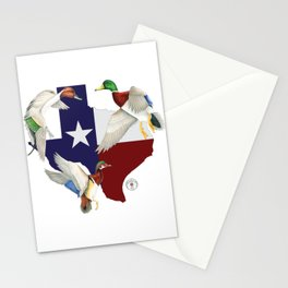 Shootat- Texas Ducks Stationery Cards