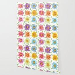 Colorist 3d daisy flower Wallpaper