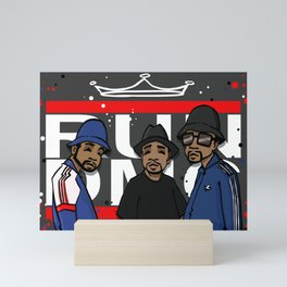 Get Down with the Kings Mini Art Print