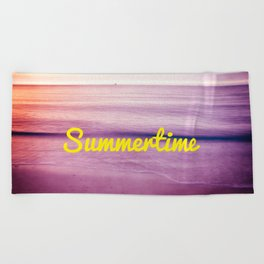 summer time Beach Towel