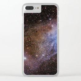 Coloured Nebula in Scorpius Clear iPhone Case