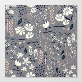 Flower garden 003 Canvas Print