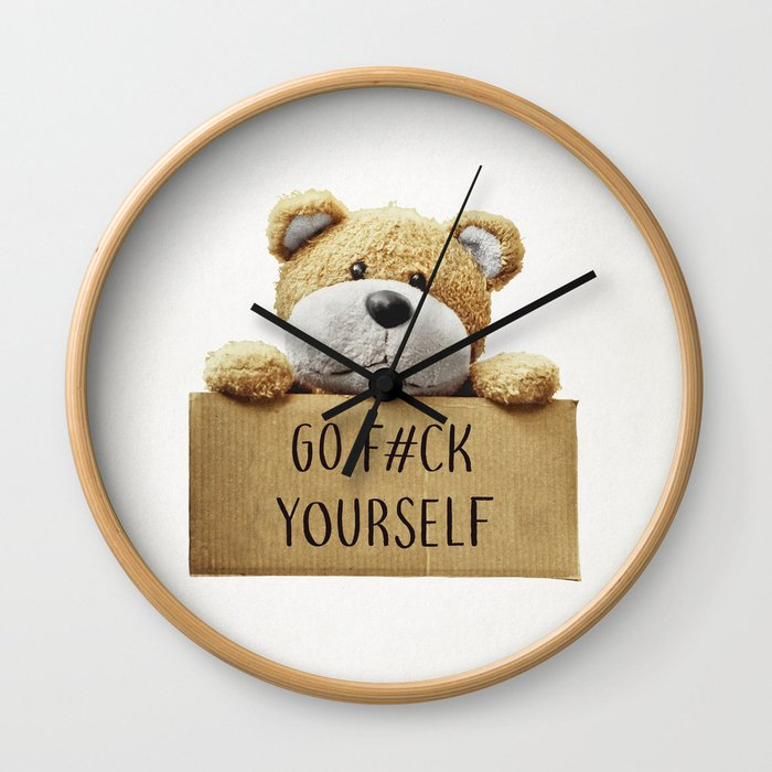 Go F#ck yourself with Wall Clock