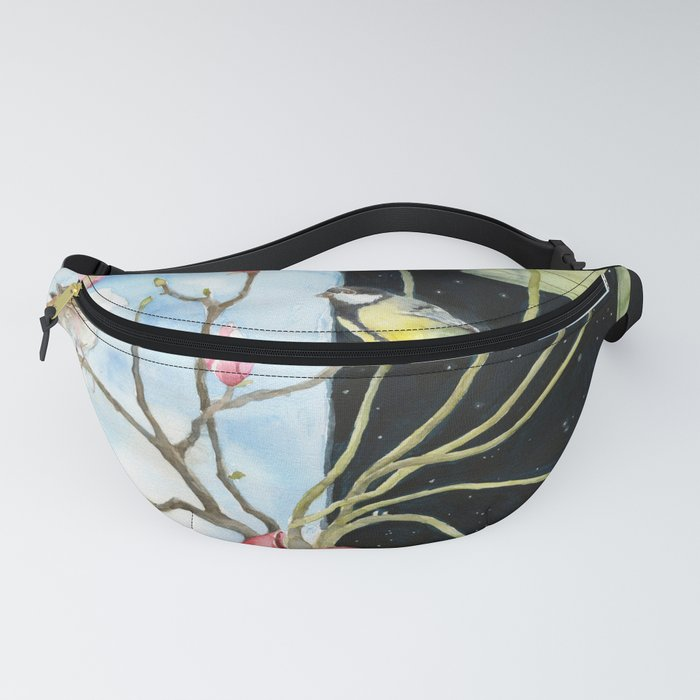 In and Yang, The Light and Shadow in ourself Fanny Pack