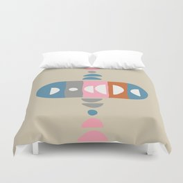 Storm Calka Space Age Duvet Cover
