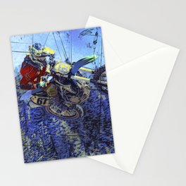 Motocross Dirt-Bike Championship Race Stationery Cards