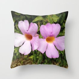 Taking Up the Mantle Throw Pillow