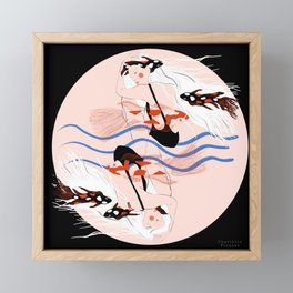 There are plenty of fish in the sea Framed Mini Art Print