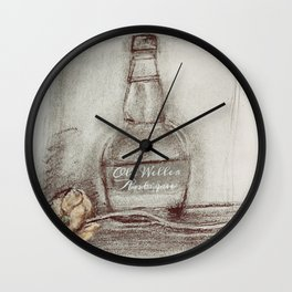 Whiskey Bourbon Wall Clock