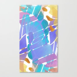 Butterfly Watercolor Abstract Canvas Print