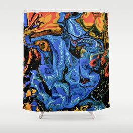 Color Explosion 4 Shower Curtain