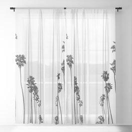 Palm Trees 8 Sheer Curtain