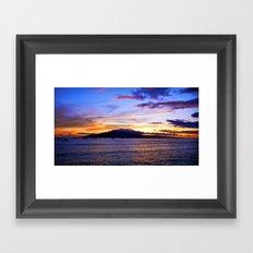 Maui Summer Framed Art Print