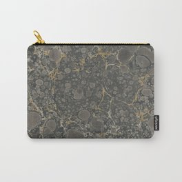 Marbled Endpaper Carry-All Pouch