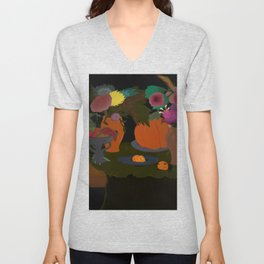 Not So Still Life #3 Unisex V-Neck