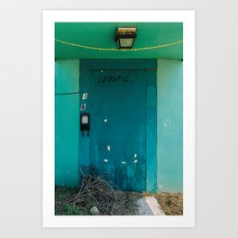 Is that a door or another dead end? Art Print