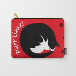 PURR time! CAT NAP Carry-All Pouch