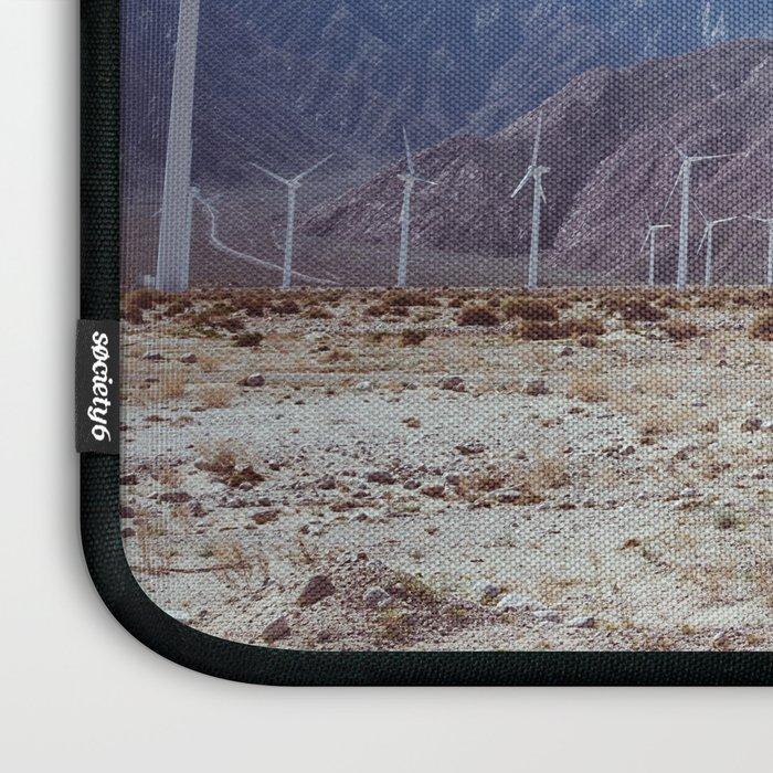 Palm Springs Windmills X Laptop Sleeve