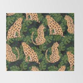 Cheetah Pattern Throw Blanket