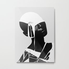 abstract portrait Metal Print