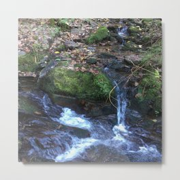 Waterfall Photo Metal Print