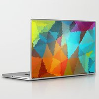stained glass Laptop & iPad Skins featuring Stained Glass  by Latidra Washington