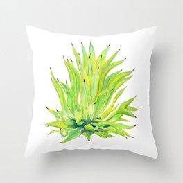 Sunlit Octopus Agave Throw Pillow