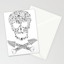 Skull Stationery Cards