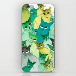 Kiowa Whimsical Cats iPhone Skin
