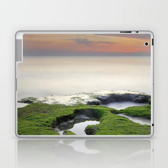 Green, white a red coast Laptop & iPad Skin