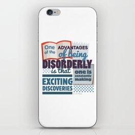 Disorderly iPhone Skin