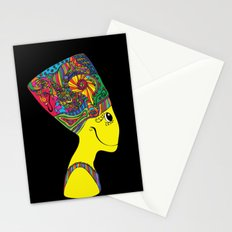 The Brain of Nefertiti Stationery Cards