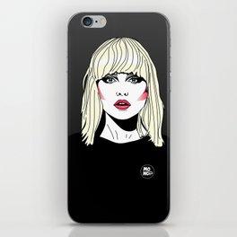Blondie iPhone Skin
